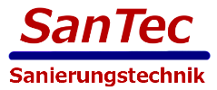 Logo: SanTec Sanierungstechnik Düsseldorf